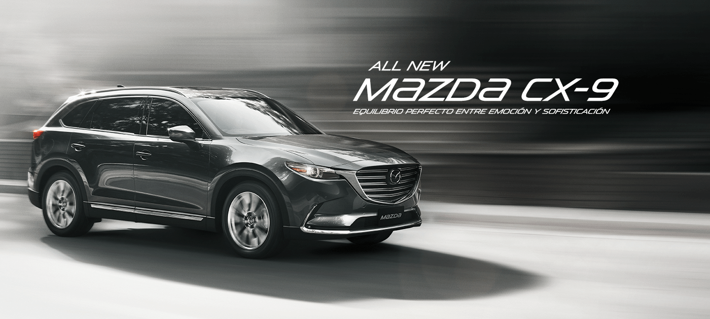 All New Mazda CX-9 GTX AWD 2.5L T CA 6AT (CN)